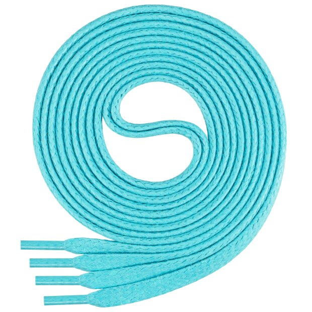 Premium-Schnürsenkel für Business-, Freizeit- und Kinderschuhe | ca. 5mm breit, flach, gewachst | Baumwolle | Längen von 70  - 140 cm